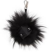 Fendi Black bag Bug Keychain
