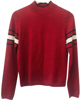 Uniqlo Red Wool Top for Women