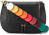 Anya Hindmarch Black 'vere' link strap satchel
