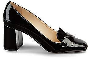 Prada Women's Patent Leather Loafer Pumps