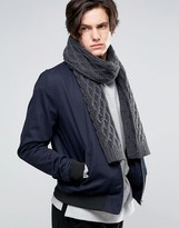 Jack Wills Scarf In Grey