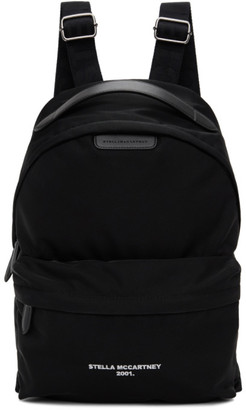 Stella McCartney Black Eco Nylon 2001 Backpack