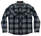 O'Neill Boy's Glacier Heat Dome Terry Plaid Shirt