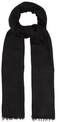 Raey Superfine Cashmere Scarf - Black