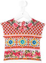 Dolce & Gabbana Mambo printed top - kids - Cotton - 9-12 mth