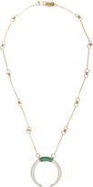 Aurelie Bidermann Caftan Moon gold-plated necklace
