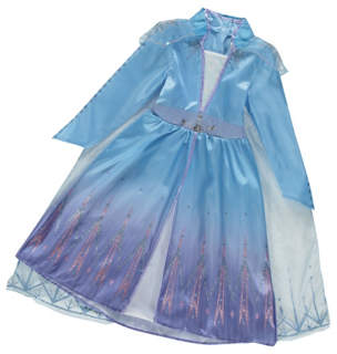 Disney George Frozen 2 Elsa Fancy Dress Costume