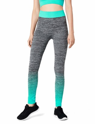 FM London Womens Sportswear set | Crop Top and Leggings Stretch-Fit Gym Wear Set