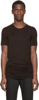 Rick Owens Black Basic Overlong T-Shirt