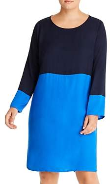Junarose Plus Azkia Color-Block Shift Dress