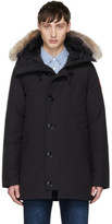 Canada Goose Navy Down and Fur Chateau Parka