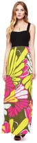 Juicy Couture Bromedliad Floral Maxi Dress