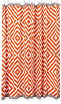 Jonathan Adler Arcade Shower Curtain - Orange