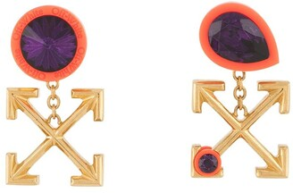 Off-White Arrows motif earrings