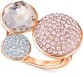 Swarovski Spherical Multi-Crystal Statement Ring