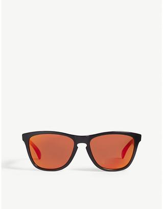 Oakley Mens Black Retro Frogskins O-Matter Square Sunglasses