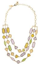 Kate Spade Triple Strand Crystal Necklace