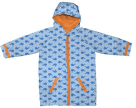 Boy's Raincoat - Blue Whales