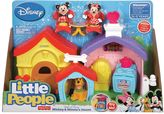 Fisher-Price Disney's Mickey Mouse Little People Mickey & Minnie's House Playset by