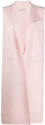 Emilio Pucci Sleeveless Virgin Wool Coat