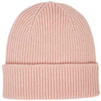 Colorful Standard COLORFUL STANDARD Light-pink Knitted Merino Wool Beanie