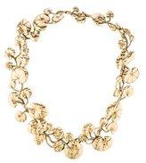 Aurelie Bidermann Lily Pad Collar Necklace