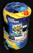 "Hasbro Transformers Toddler Micro Raschel Throw - 46"" X 60"""