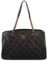 Chanel CC Crown Medium Shopping Tote