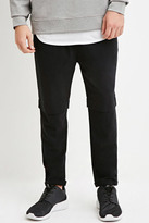 Forever 21 FOREVER 21+ Cuffed Cotton-Blend Pants