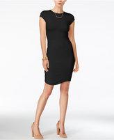 Bar III Cap-Sleeve Bodycon Dress, Only at Macy's