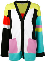 Emilio Pucci colour block cardigan - women - Polyester/Rayon - S