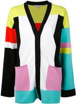Emilio Pucci colour block cardigan - women - Rayon/Polyester - S