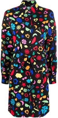 Love Moschino Printed Shirtdress