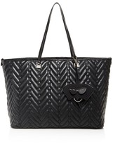 Christian Siriano Sabrina Quilted Shopper Tote