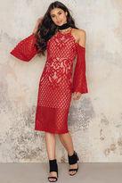 Bardot Mila Lace Midi dress