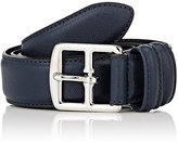 Barneys New York Men's Saffiano Leather Belt