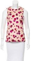Michael Kors Sleeveless Floral Print Top w/ Tags