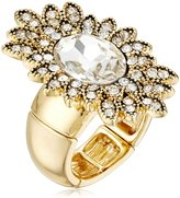 Jessica Simpson Stone Antique Gold Ring, Size 7
