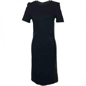Alexander McQueen Black Viscose Dresses