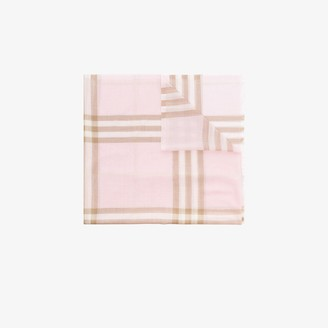 Burberry Pink Giant Check Scarf