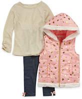 Self Esteem 3-pc. Legging Set-Preschool Girls