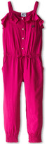 Armani Junior Jumpsuit w/ Pearl Button Details (Toddler/Little Kids)