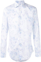 Etro floral embroidered shirt - men - Cotton - 39