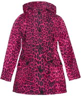 Urban Republic Big Girls Leopard Pattern Pockets Hooded Coat 10