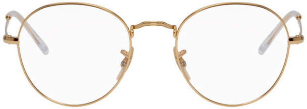 Ray-Ban Gold Icons Glasses
