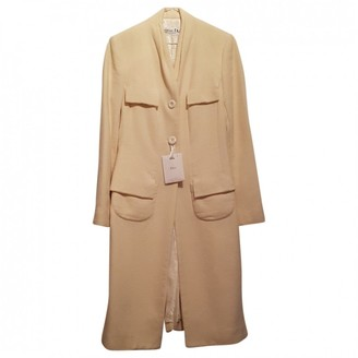 Christian Dior Beige Cotton Coat for Women Vintage