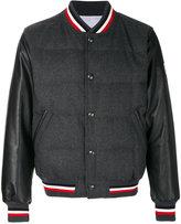 Moncler Gamme Bleu feather down bomber jacket
