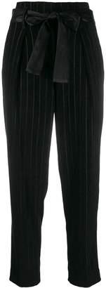 1901 Circolo cropped pinstriped trousers