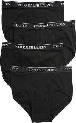 Polo Ralph Lauren 4-Pack Cotton Briefs