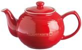 Typhoon Mason Cash Ceramic 37 Fl Oz. Red Teapot & Infuser